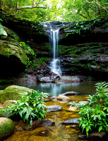 Iriomote island small tranquil falls 2